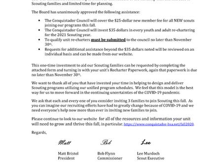 Membership Fee Assistance
