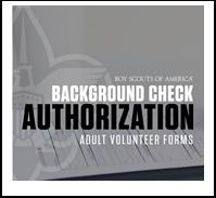 Adult Leader Application/Background Check  Disclosure  Form