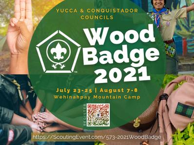 Wood Badge 2021