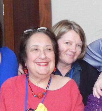 Arlene Erlbach, front, and Sindee Morgan