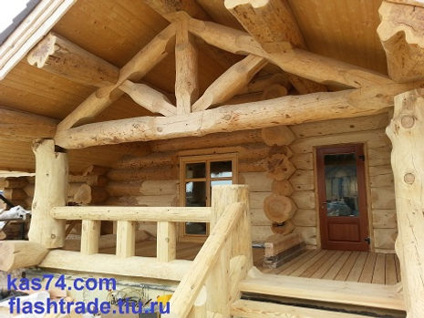 Канадская рубка, дом, баня, стройка, фундамент в Челябинск