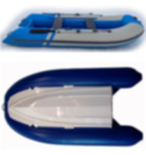 Стеклопластик + ПВХ лодка