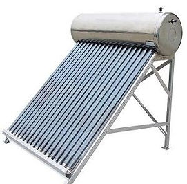 Водонагреватель автономный, солнечный коллектор без давления