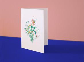 Le Bouquet - carte CMJN