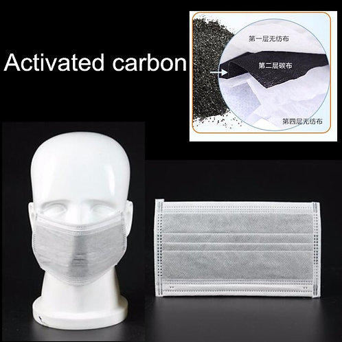 4-layer Carbon Activated Face Mask (50pcs)