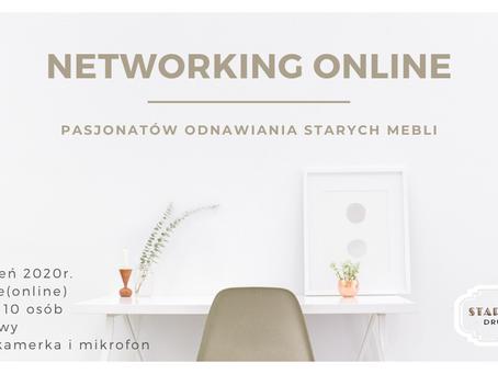 Networking online pasjonatów odnawiania mebli 26 styczeń 2020r
