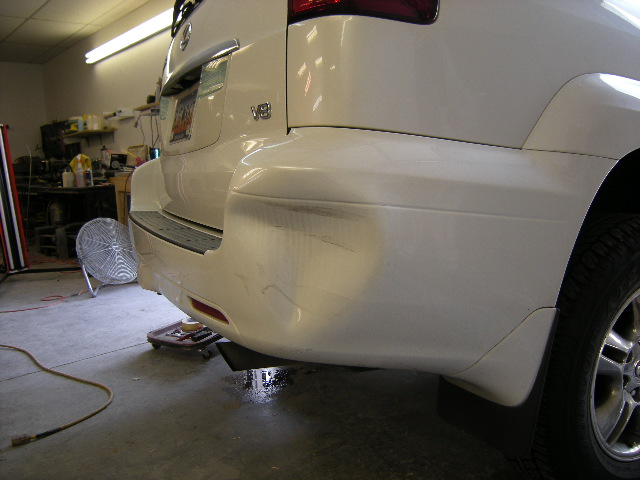 Lexus GX470 Before