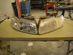 Before & After Headlamp Restoratio