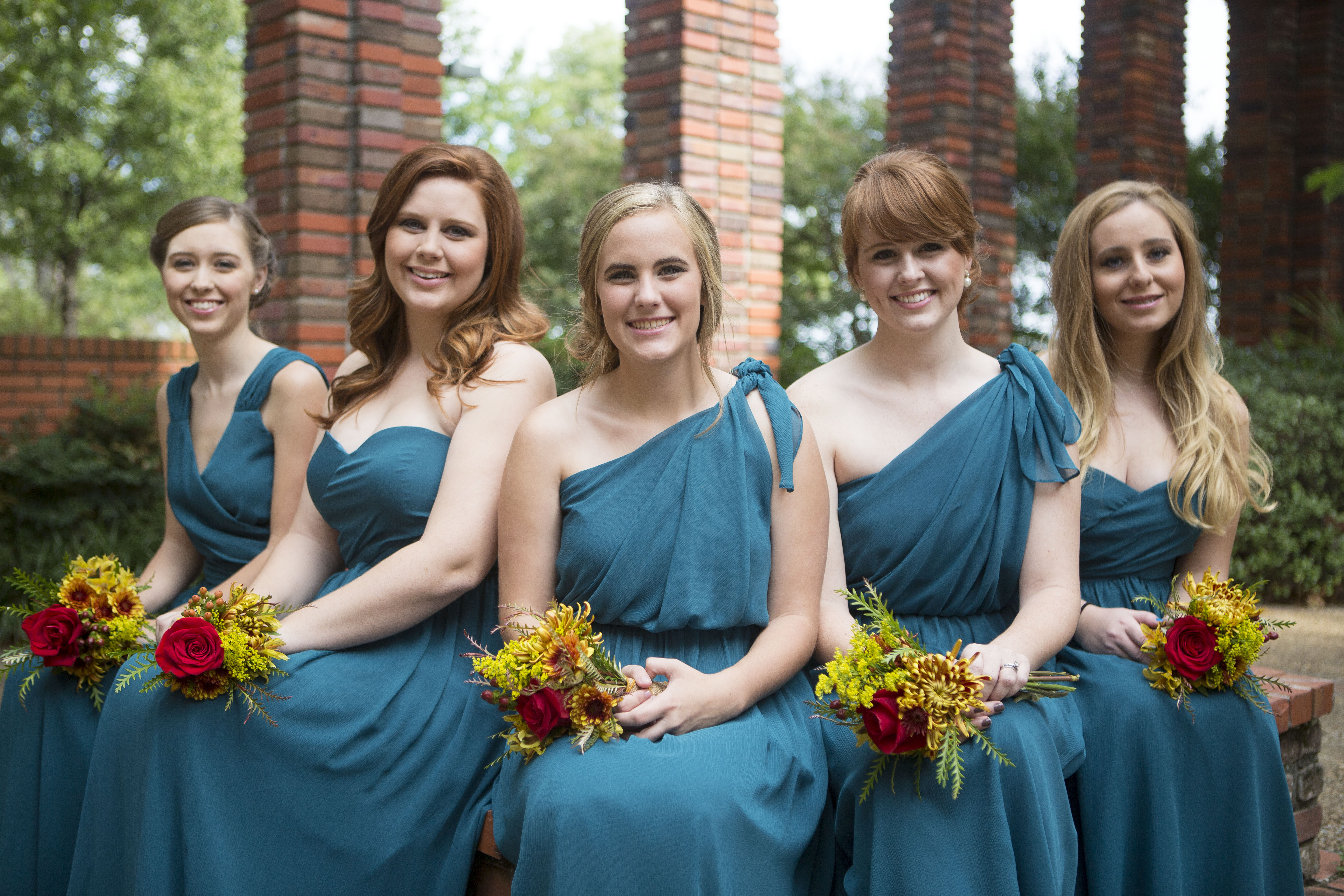 Britt Wedding - Bridesmaids