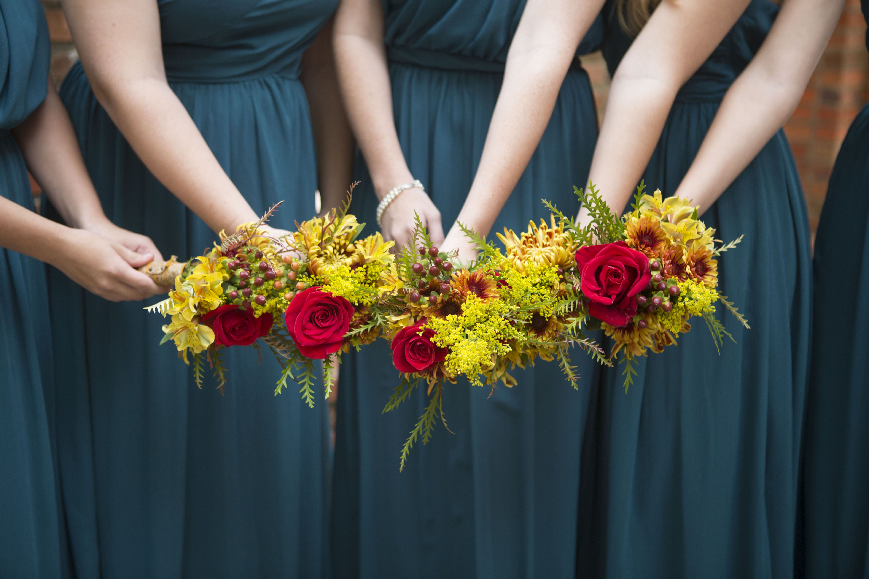 Britt Wedding - Flower Detail