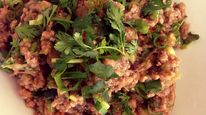 Spicy  Pork and Aubergine Dip