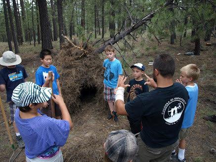 Survival Shelter Building Class