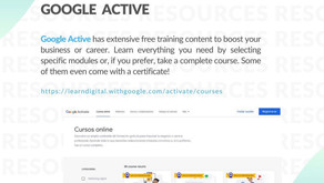 Learn something new: Google Active / Grow with Google