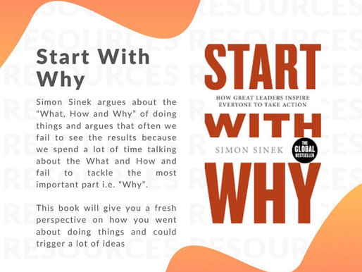 Book recommendation: Start with Why