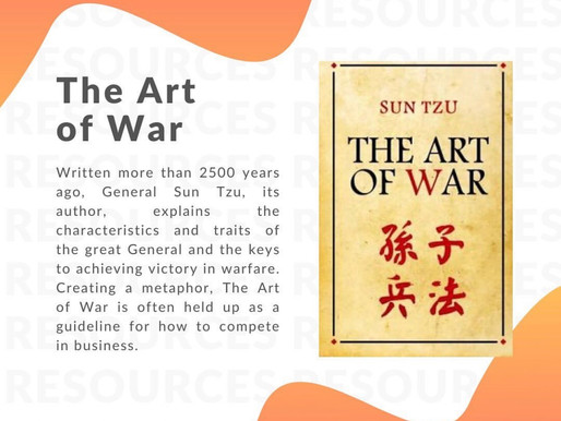 Book recommendation: The art of war