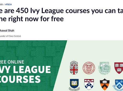 Freecodecamp Ivy League online courses