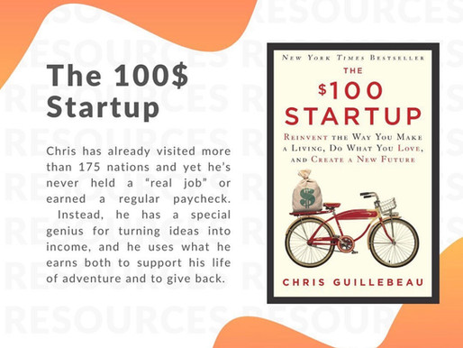 Book recommendation: The $100 Startup