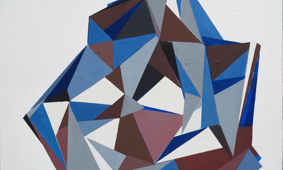 Composición en azules