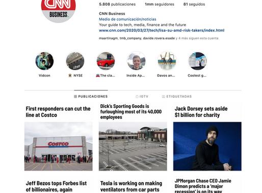 Insta account: CNN Business