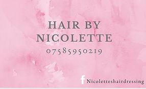 Nicolette's Hairdressing