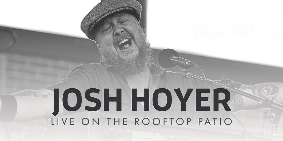 Josh Hoyer On The Rooftop