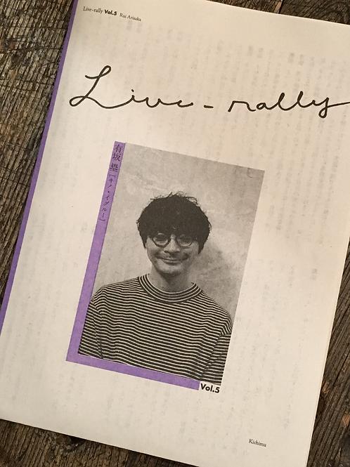 Live-rally vol.5:有坂塁(キノ・イグルー)