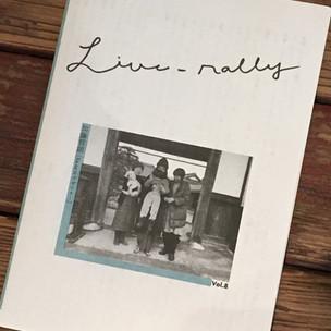 『Live-rally』vol.8:加藤哲朗(Ka na ta デザイナー)発売!
