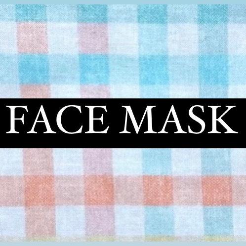 Spring Plaid Mask