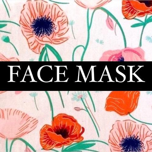 Perfect Poppy Mask