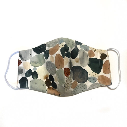 Pond Pebbles Mask