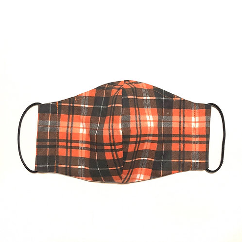 Autumn Plaid Mask