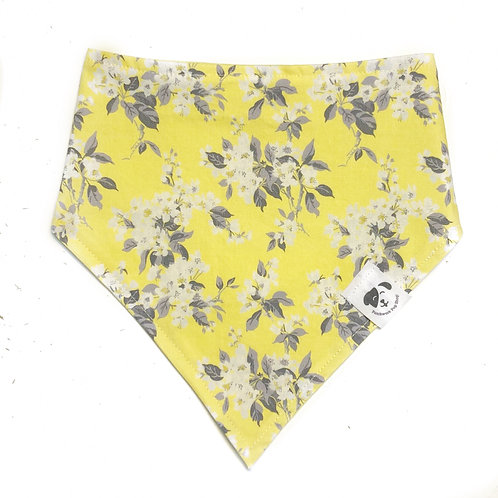 Yellow Blossoms Bandana