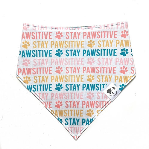 Stay Pawsitive Bandana