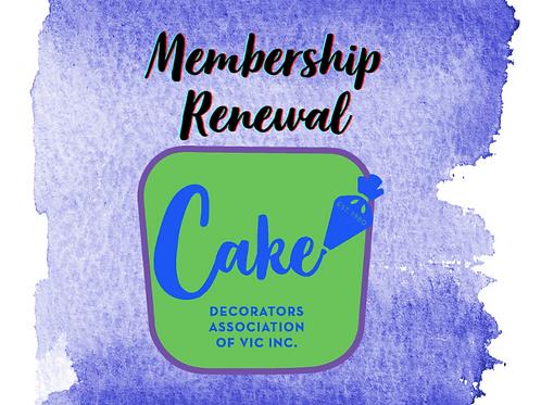 Adult Membership Renewal 2021