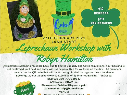 Workshop with Robyn Hamilton- Leprechaun