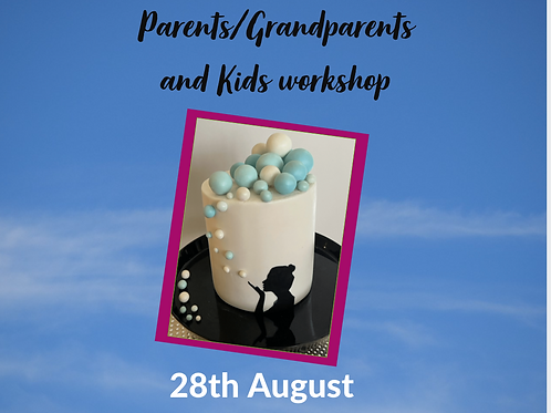 Bubble and Silhouette Cake Workshop
