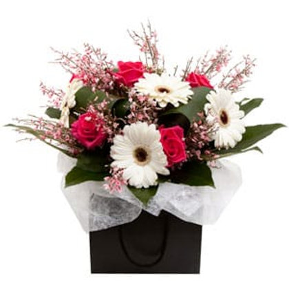 Box of Delights - Hand Tied Bouquet - Florist Choice