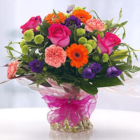 Vibrant Daze - Hand Tied Bouquet - Florist Choic