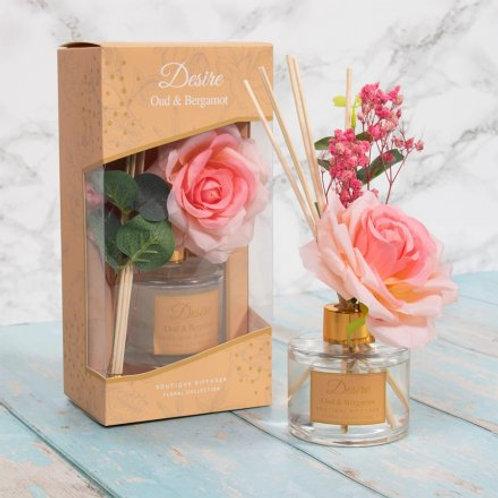 Desire Oud & Bergamot Floral Diffuser - 100ml