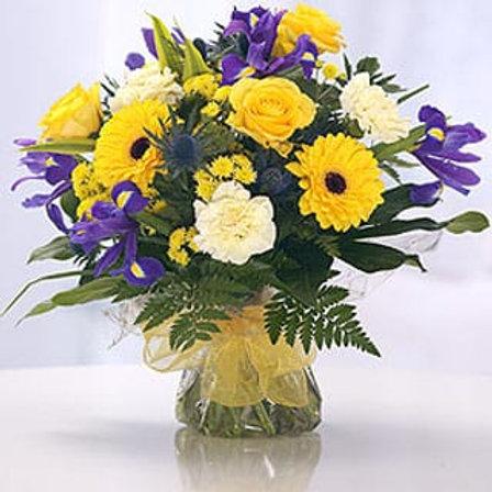 Sunny Daze - Hand Tied Bouquet - Florist Choice