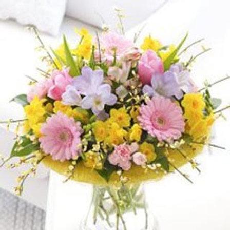 Springtime - Hand Tied Bouquet - Florist Choice