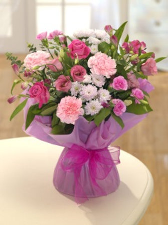 Sweet Moments - Hand Tied Bouquet - Florist Choice