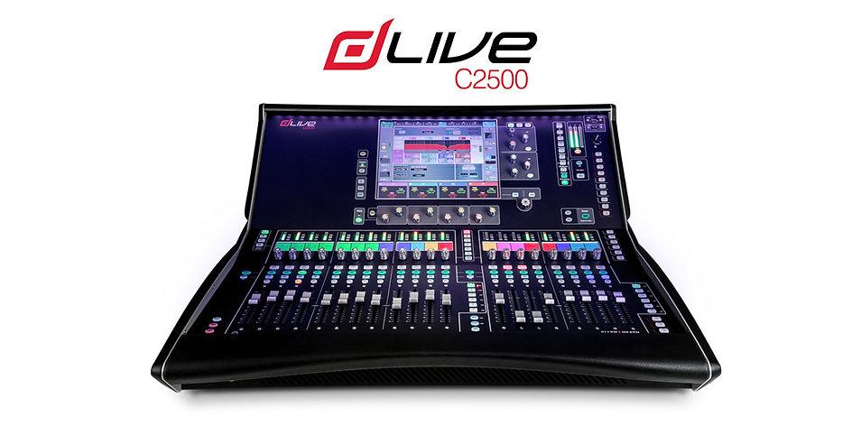 D Live C2500 mixer.jpg