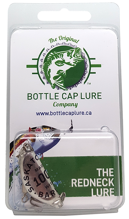District Brewing Sask Barley Bottle Cap Fishing Lure