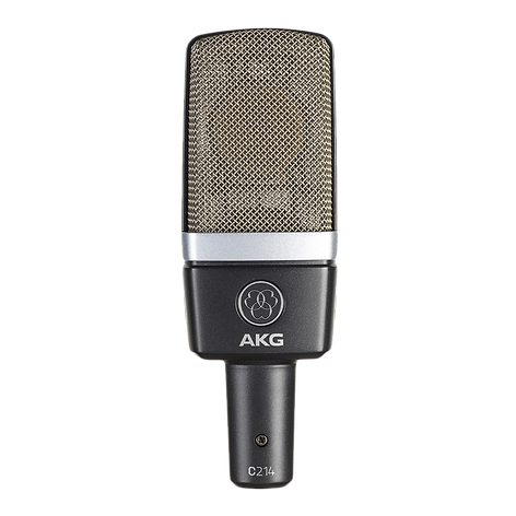AKG_c214 The C214 professional large-dia