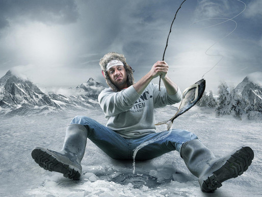 Ice Fishing Is Coming Early This Year