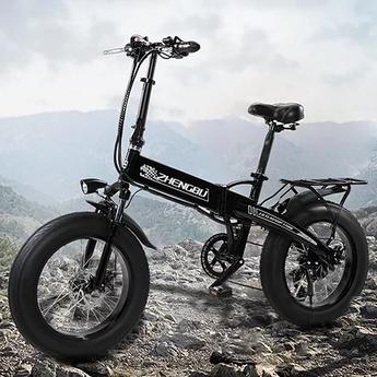 Zhengbu XB Electric Fat Bike pic 2.webp