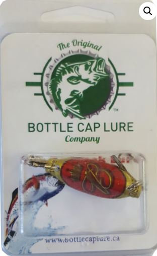 Budweiser Vintage Beer Bottle Cap Fishing Lure