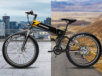 EZBIKE ZB H3 Foldable Electric Fat Bike