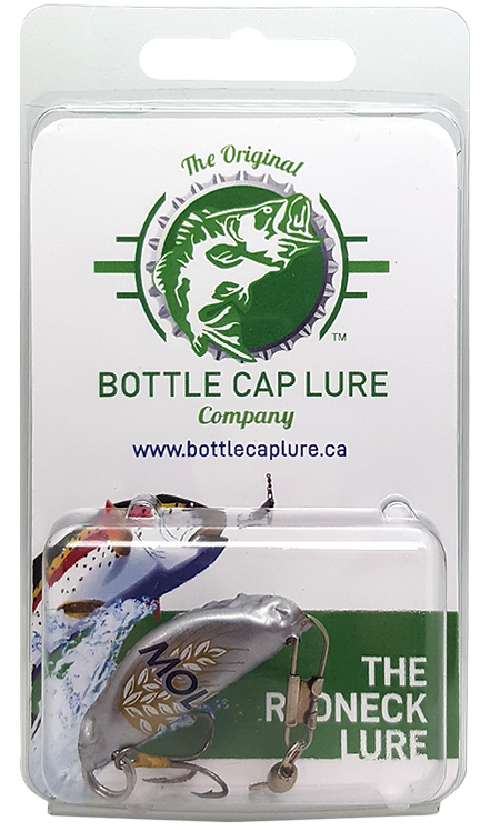 Molson Wheat Beer Bottle Cap Fishing Lure